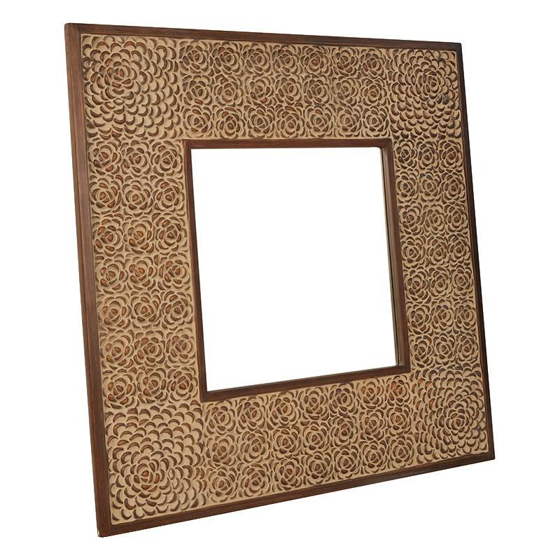 Stella Square Wall Mirror, 120cm