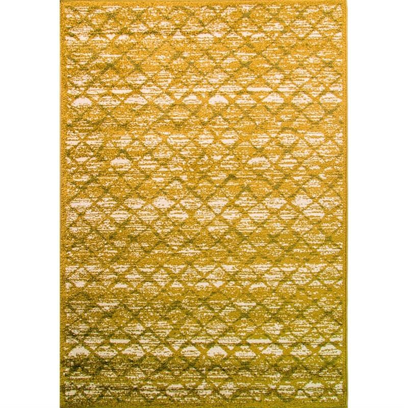 Turkish Made Designer Court Perry Rug in Green - 160x230cm
