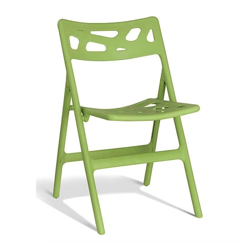 Mono Commercial Grade Folding Chair Green