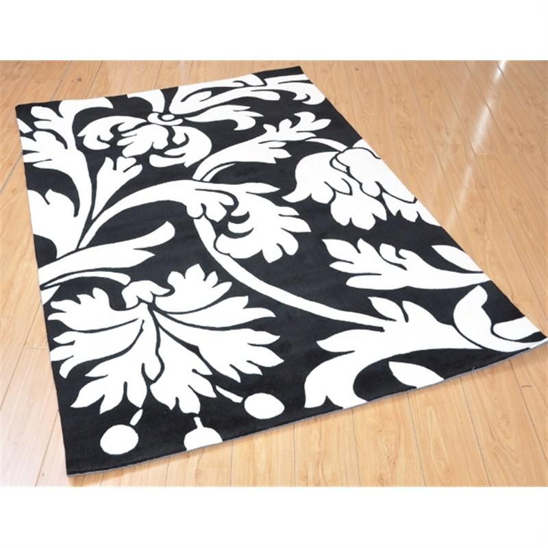 Mono Rug in Cameo Black 150 x 210cm