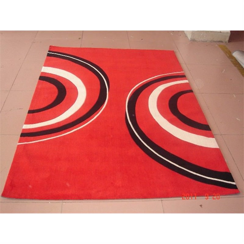 Mono Cycle Rug in Red 150 x 210cm
