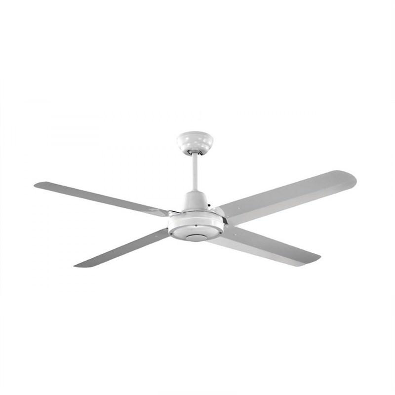 Martec Precision Silicon Steel Fan (MPF140WH) in White - 140cm