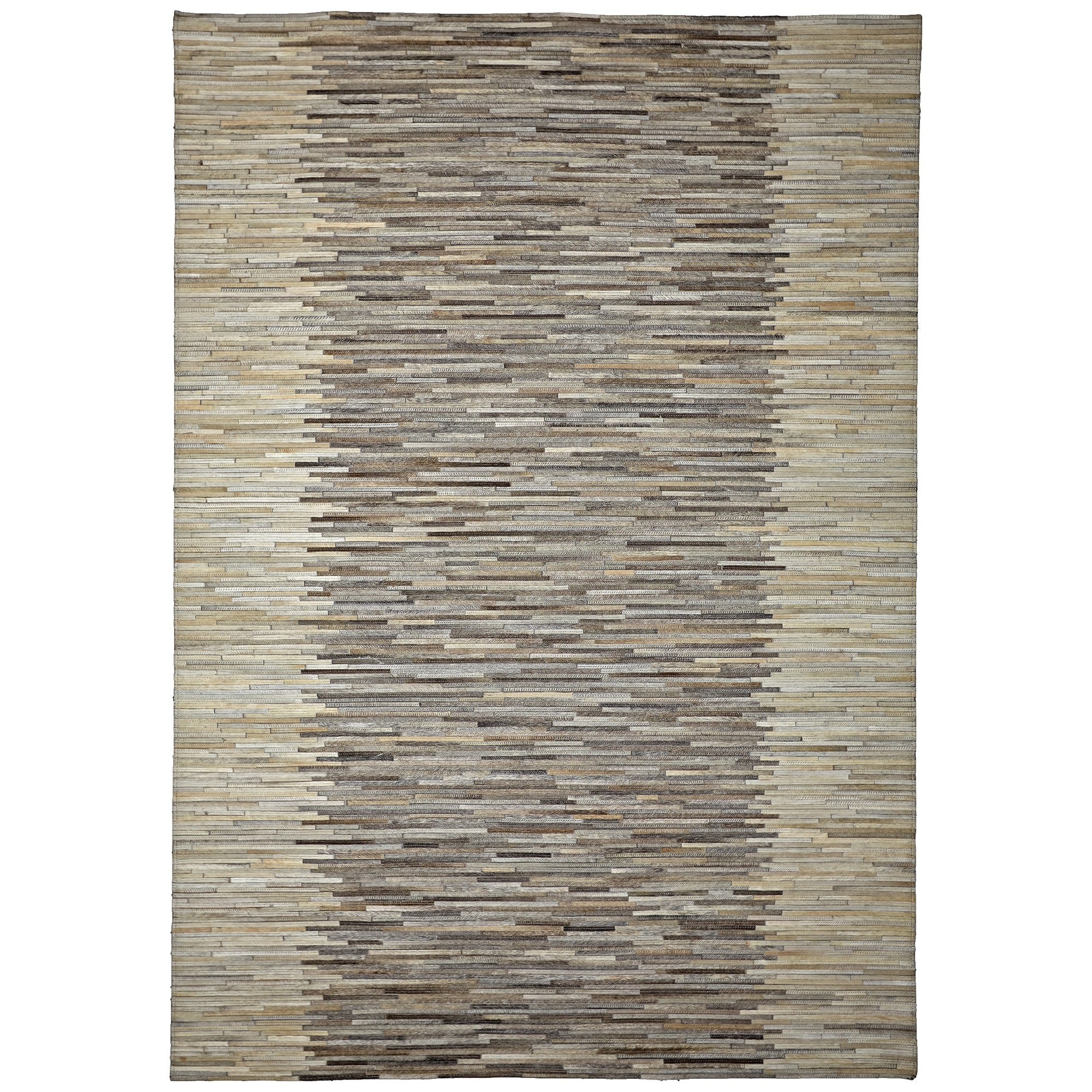 Mosaics No.829 Hide Leather Rug, 290x200cm