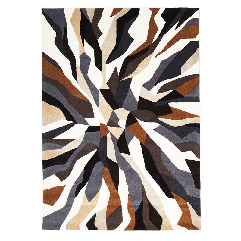 Crossroads Designer Hand Tufted Wool Rug - 225x155cm