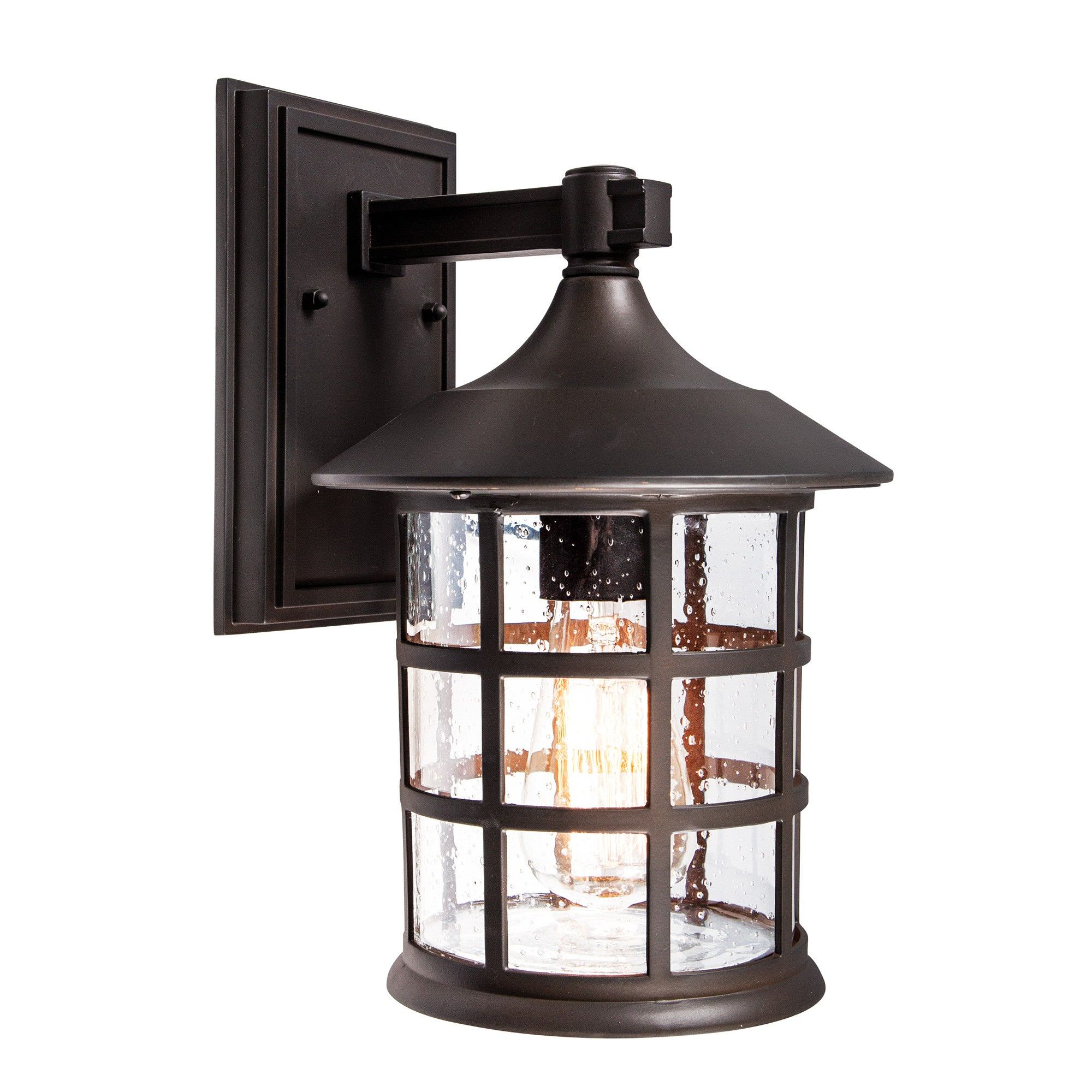 Louis IP44 Outdoor Wall Lantern, Large