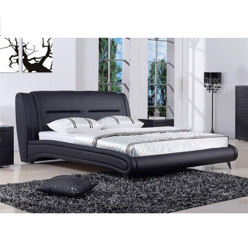 Mystic King Bed in Black