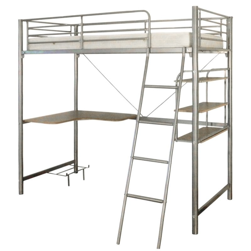 Melbourne Single Bunk In Silver