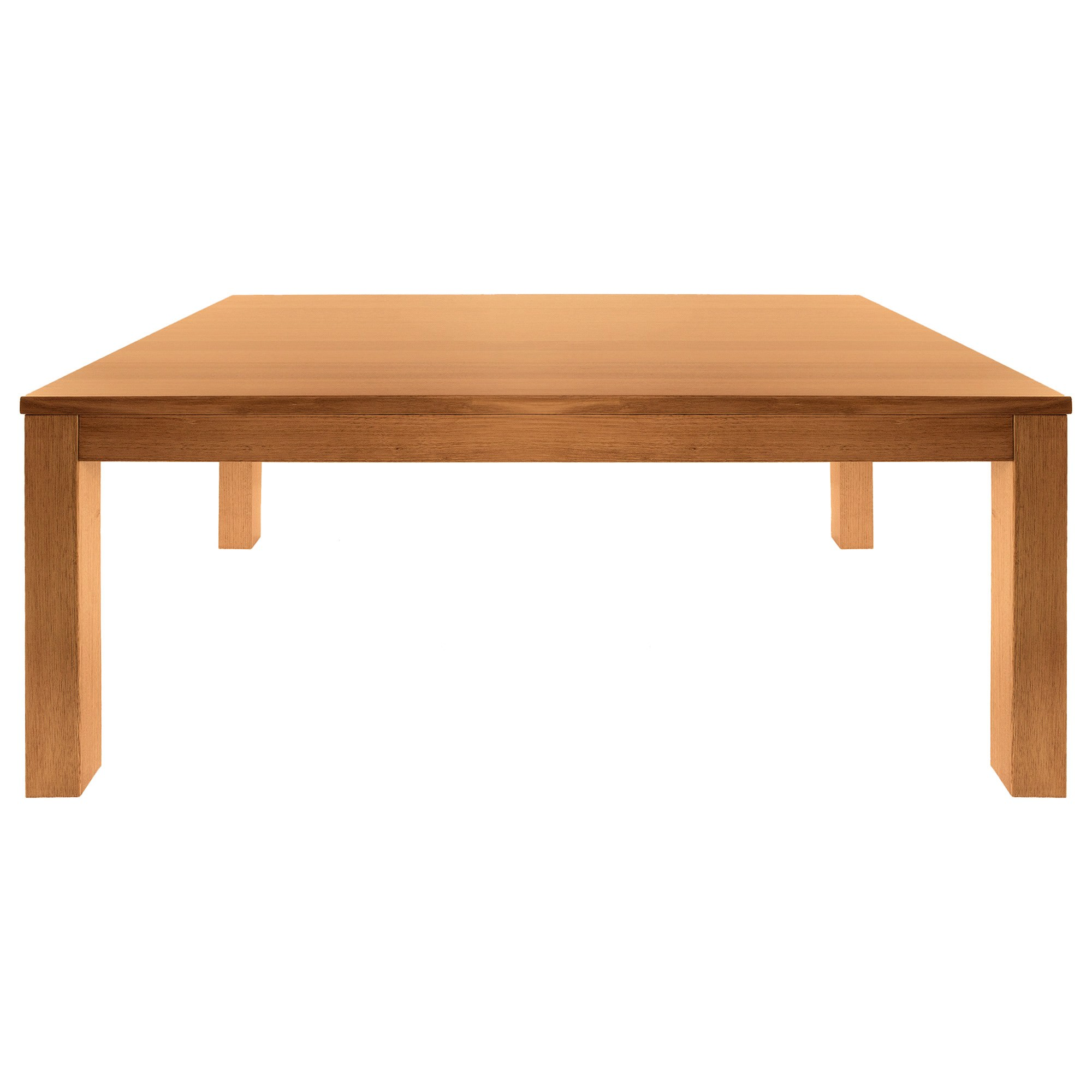 Moselia Tasmanian Oak Timber Dining Table, 210cm, Wheat