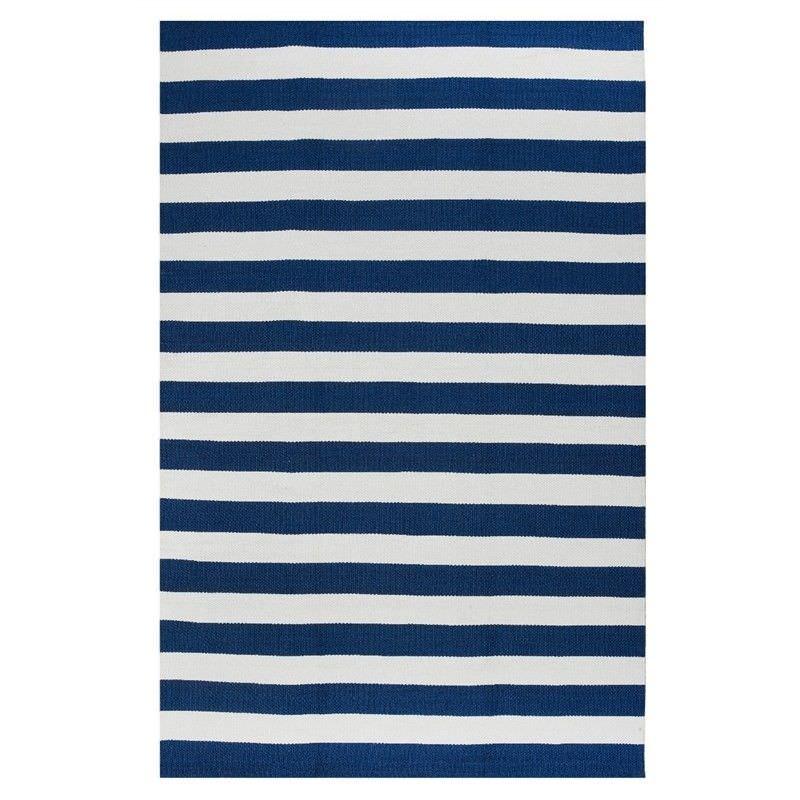 Nantucket Flat Weave Indoor/Outdoor Rug in Blue - 120x180cm