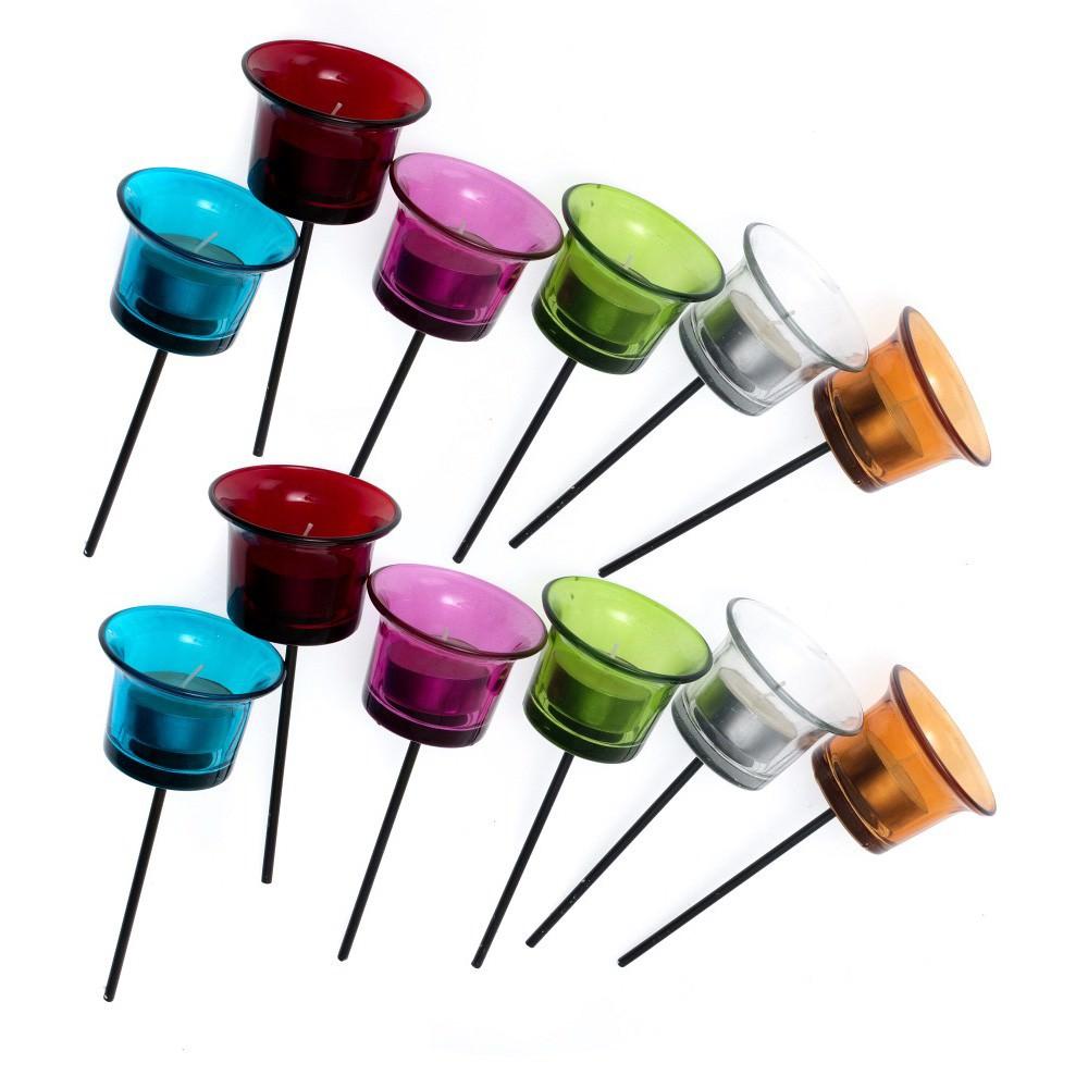 Desiree 12 Piece Assorted Spike Tealight Holder Set