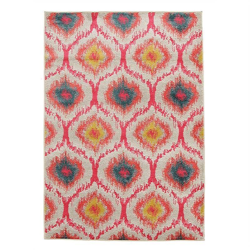 Gypsy Heirloom Modern Rug in Pink - 290x200cm