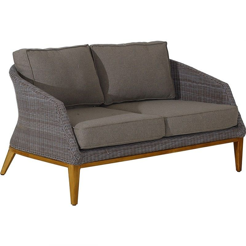 Wicker Indoor/Outdoor 2 Seater Sofa