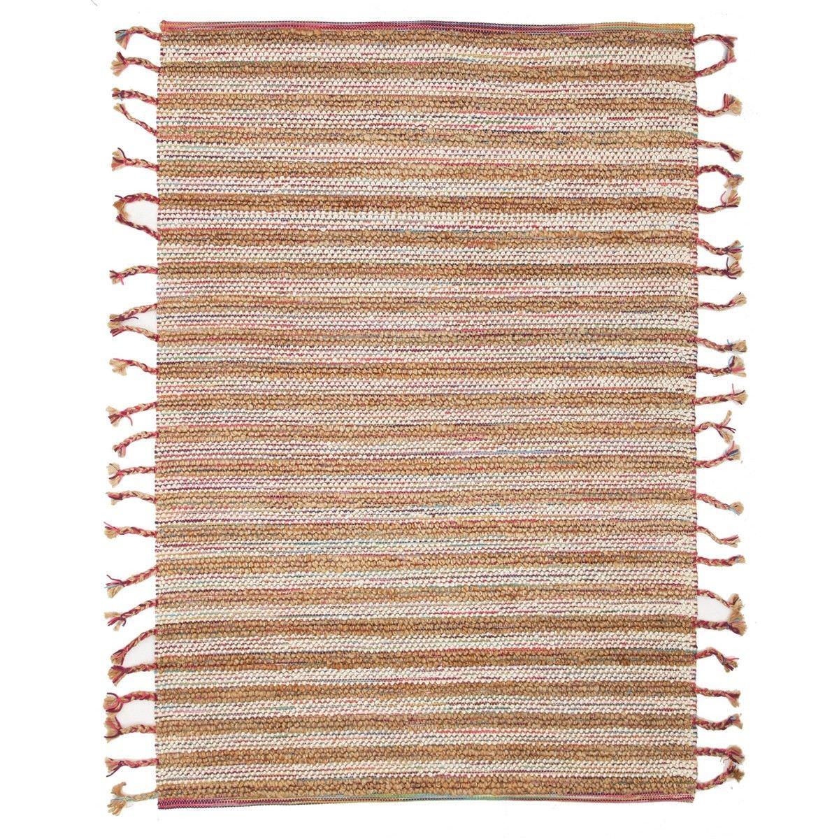 Nordic Summer Wool & Jute Rug, 225x155cm