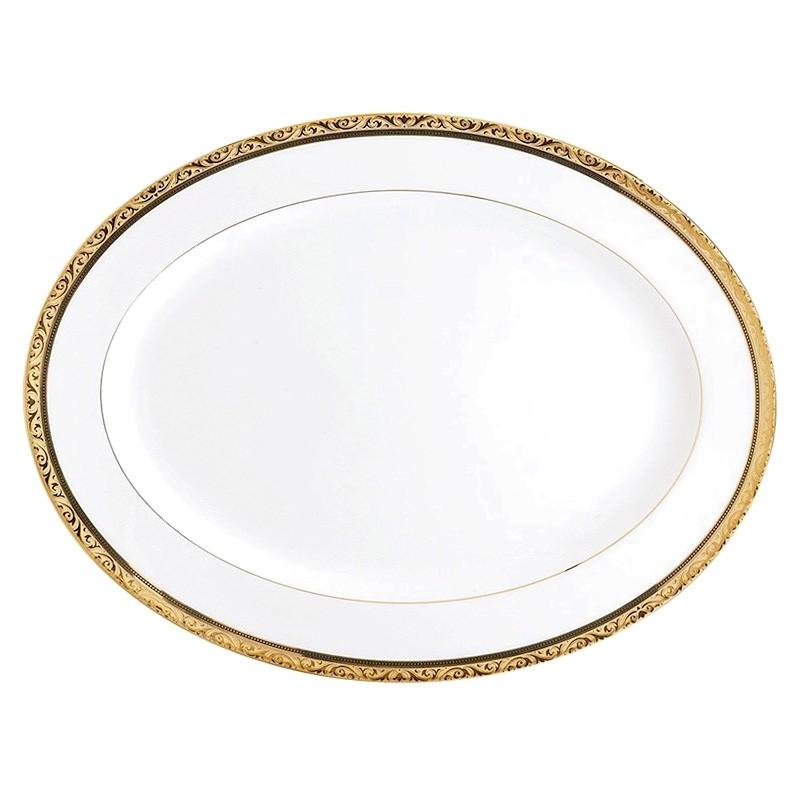 Noritake Regent Gold Fine China Oval Platter