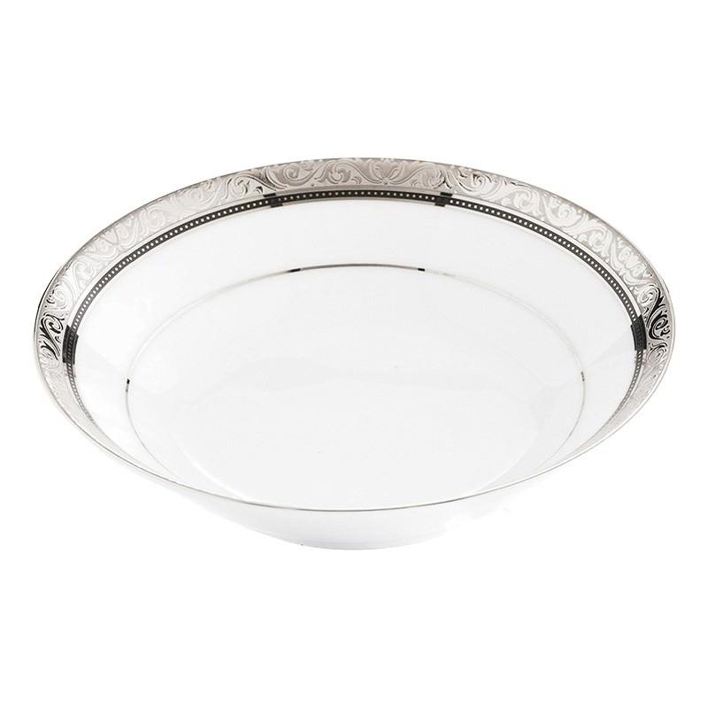 Noritake Regent Platinum Fine China Dessert Bowl