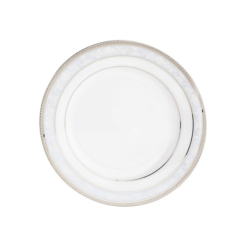 Noritake Hampshire Platinum Fine China Entree Plate