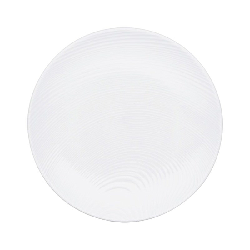Noritake WoW Dune Set of 4 Fine China Coupe Salad Plates