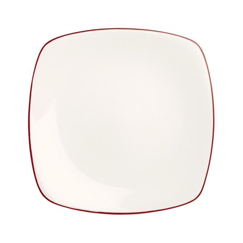 Noritake Colorwave Raspberry Square Dinner Plate