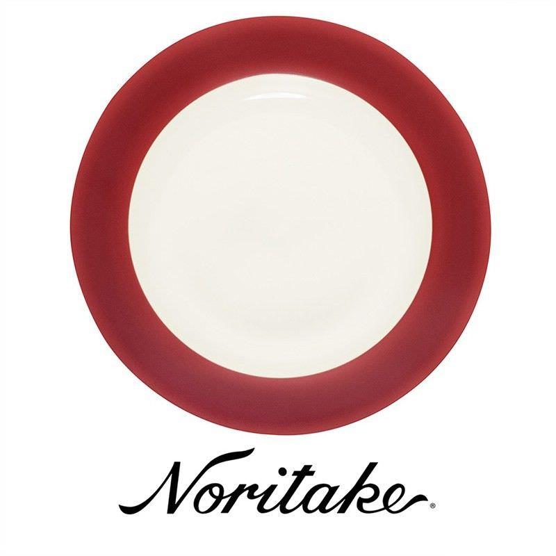 Noritake Colorwave Raspberry Rim Dinner Plate