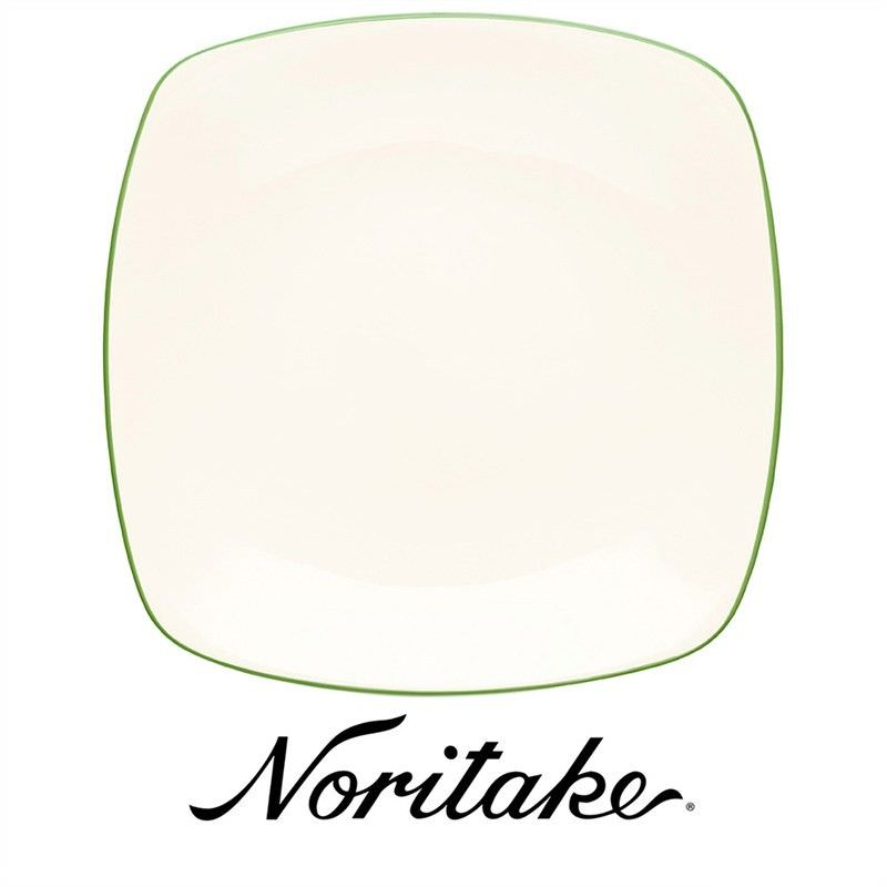 Noritake Colorwave Apple Green Square Dinner Plate