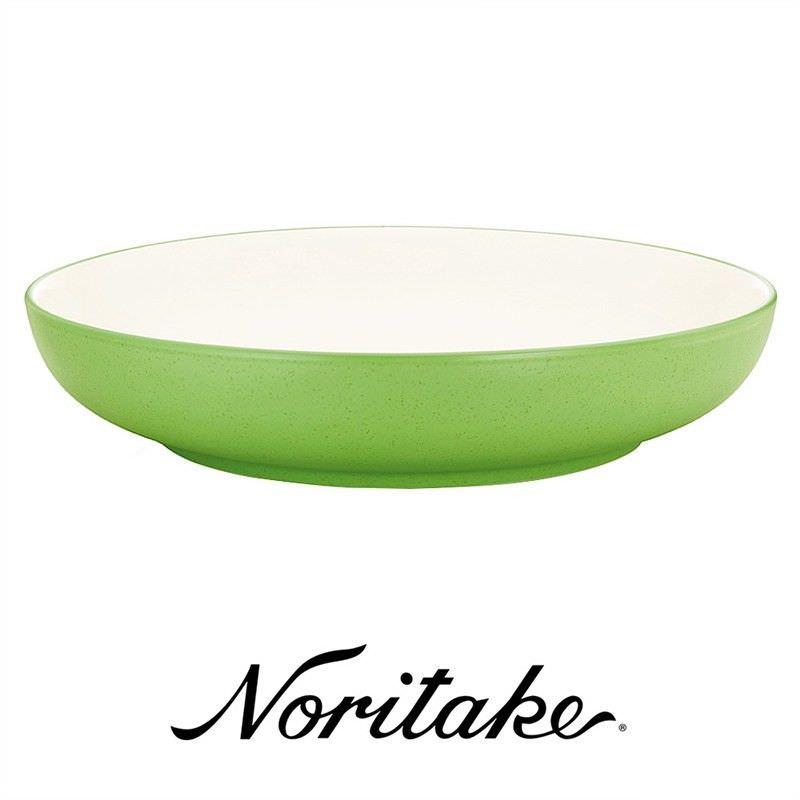 Noritake Colorwave Apple Green Pasta Serving Bowl