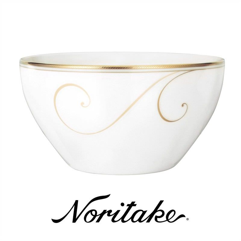 Noritake Golden Wave Fine China Deep Rice Bowl