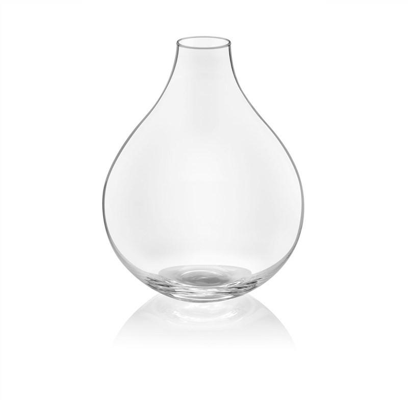 IVV Gea Handmade Clear Glass Vase 31Cm