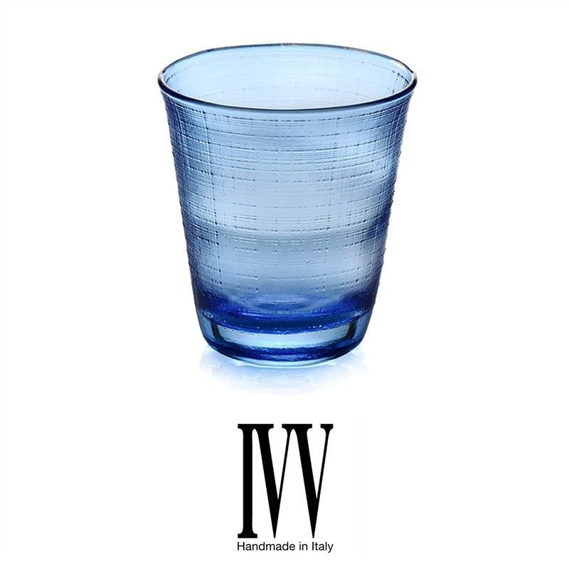 IVV Denim Set of 6 Tumblers - Blue