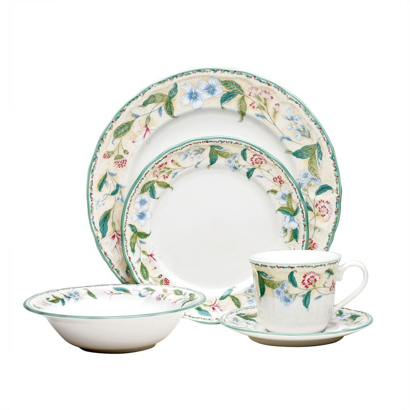 Noritake Floral Bay 40Pce Dinner Setting For 8