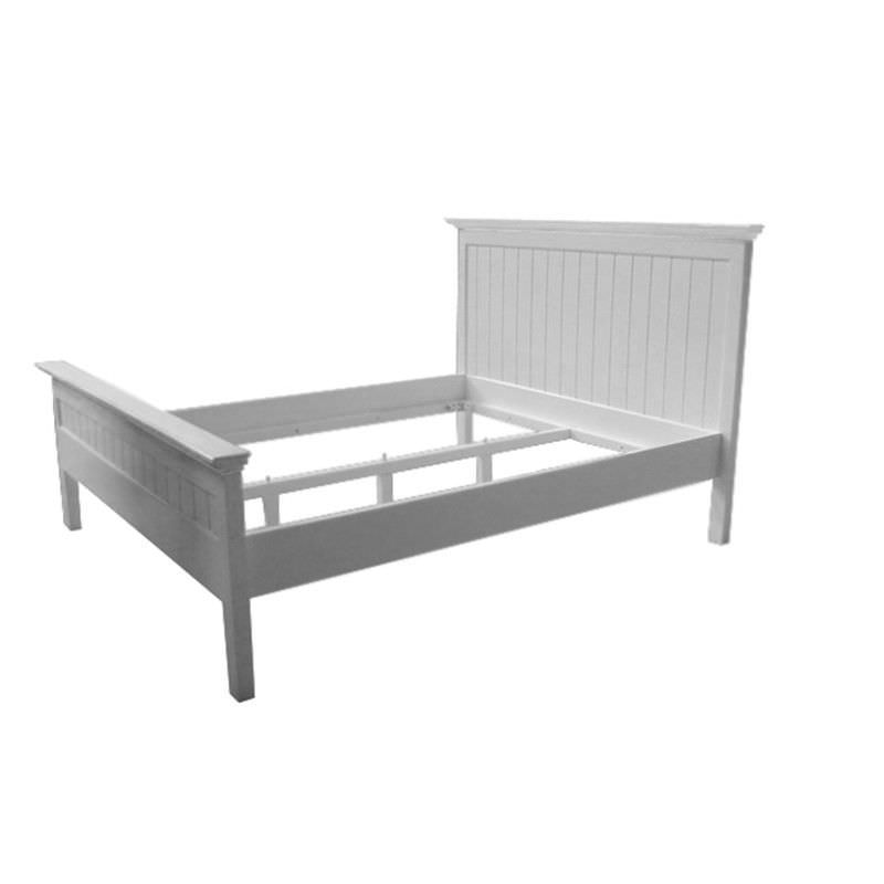 Halifax Mahogany Timber Bed, King