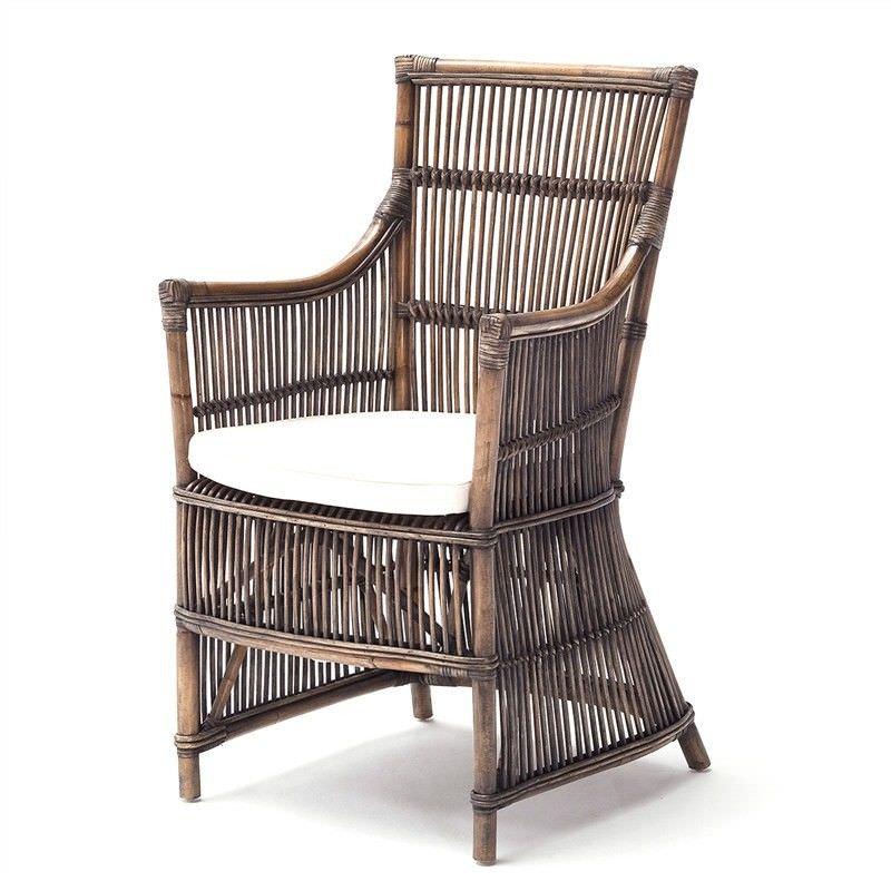 Dubois Kubu Rattan Armchair with Cushion