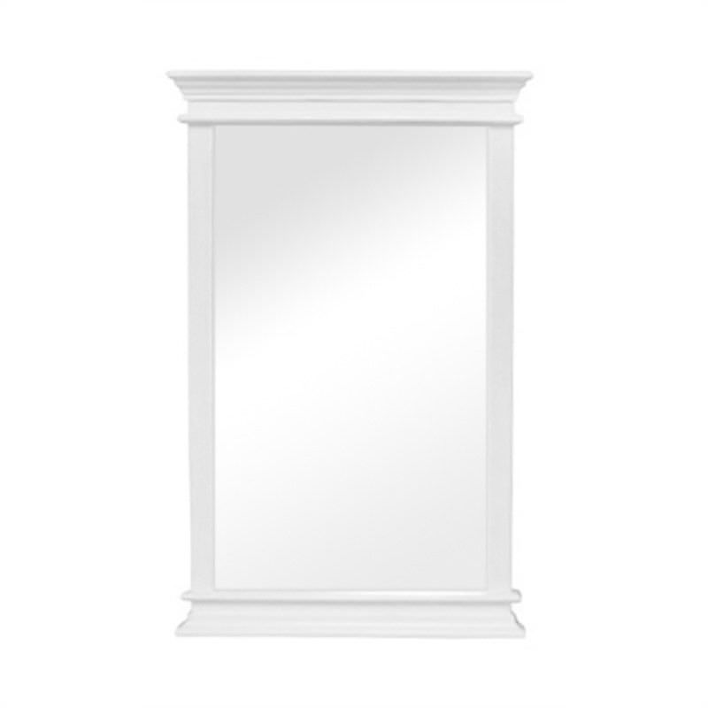 Halifax Solid Mahogany Timber Portrait Wall Mirror