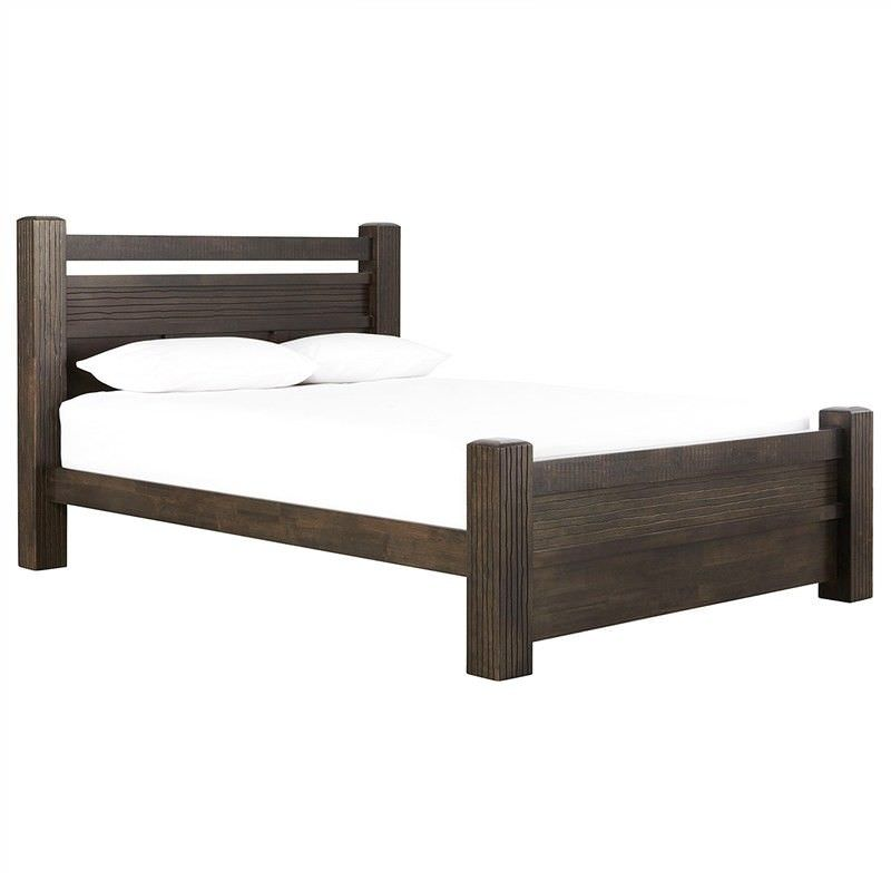 Riverdale Solid Rubber Wood Timber King Single Bed