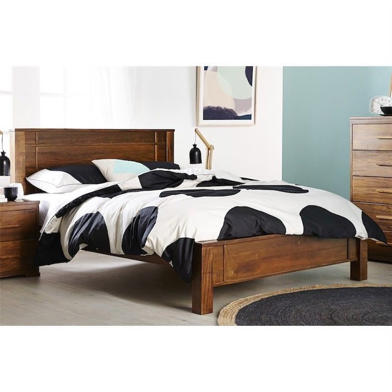Esmond Solid African Timber Double Bed