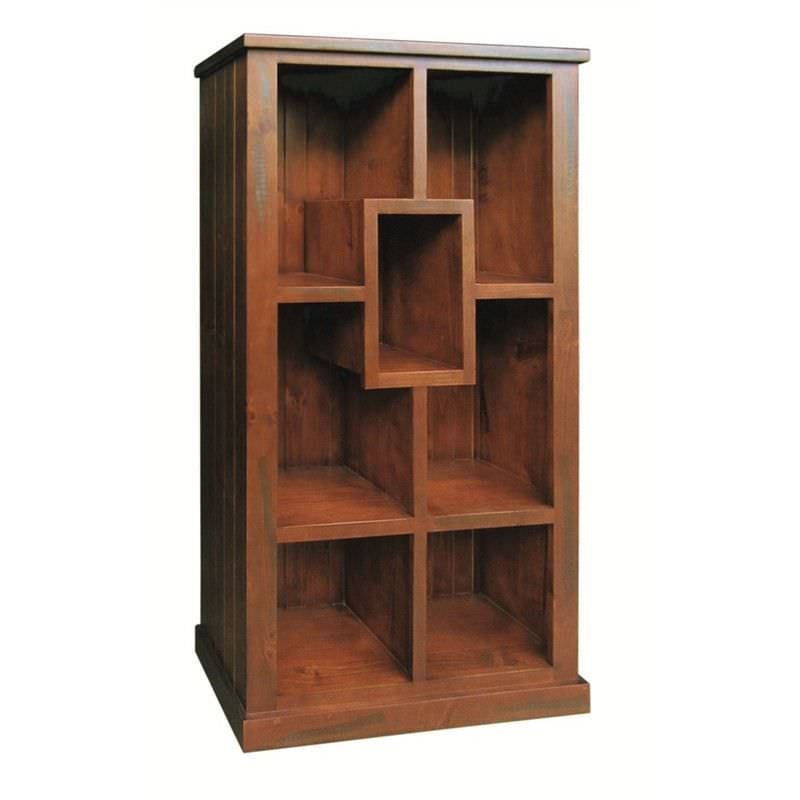 New York Solid Pine Timber Bookshelf / Display Unit