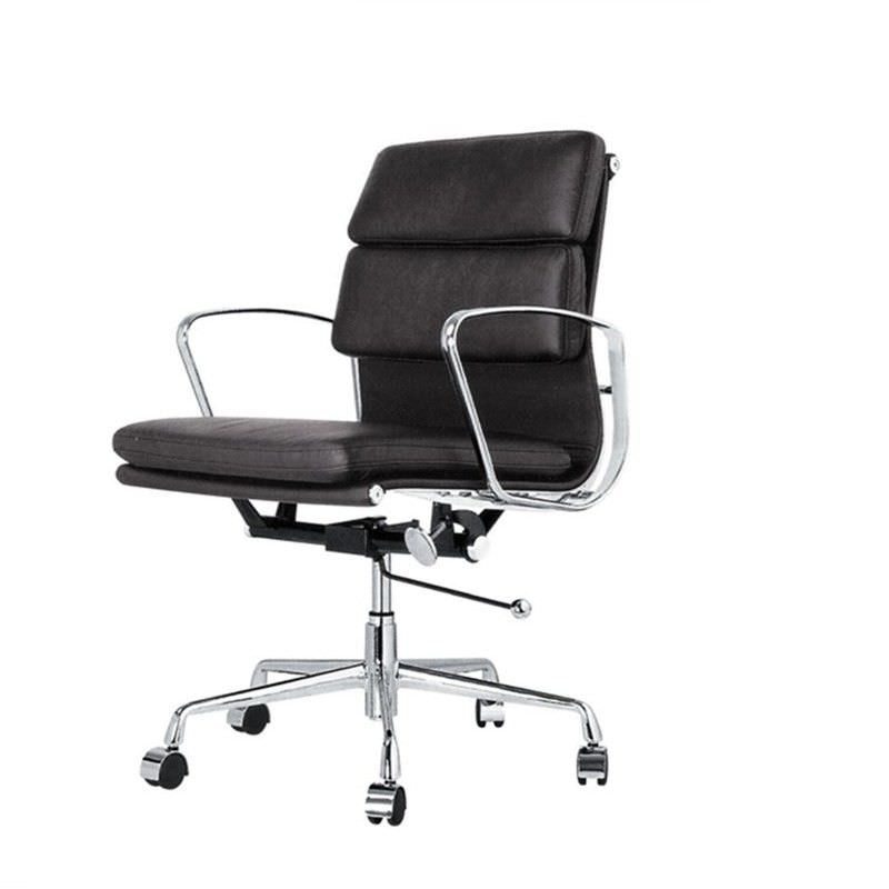 Soft Pad Management Eames Replica Office Chair - Black Premium