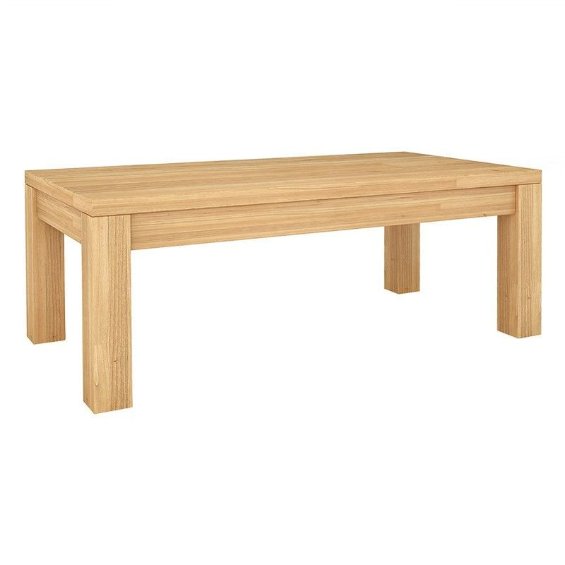 Valencia Solid Mountain Ash Timber 120cm Coffee Table
