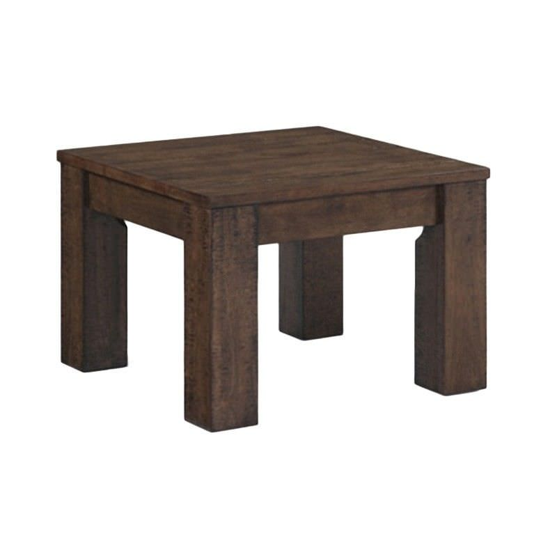 Westbrook Solid Hardwood Timber Lamp Table