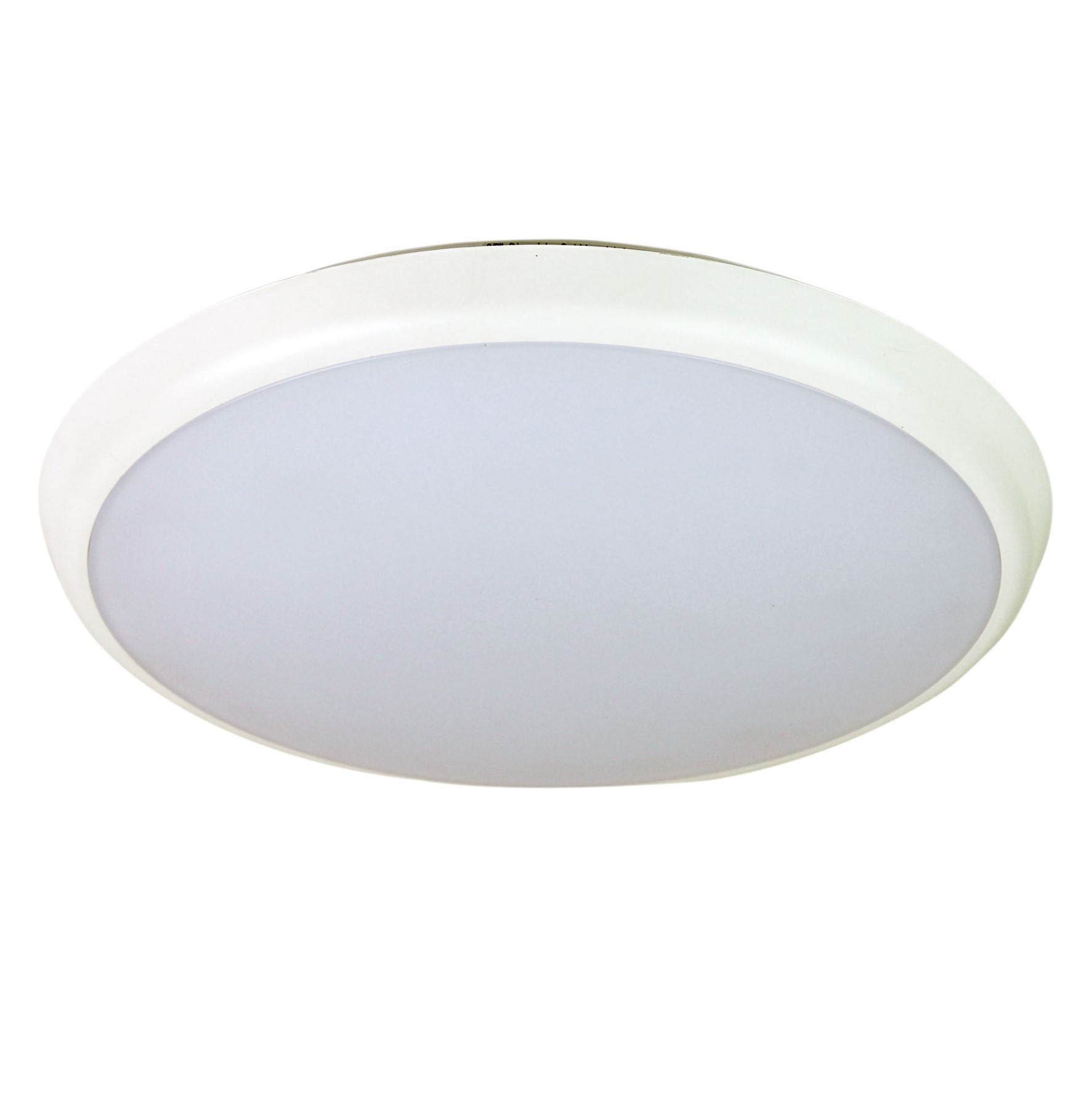 Kore IP54 Indoor / Outdoor Colour Changing LED Oyster Light, 30cm, White