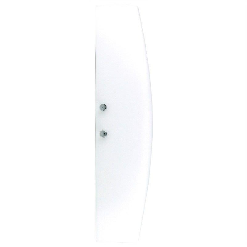 Yoshi Opal Matt Glass Wall Light - Small (Oriel Lighting)
