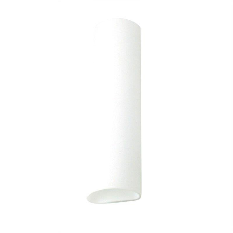 Luca Opal Matt Glass Vanity Light - Small (Oriel Lighting)