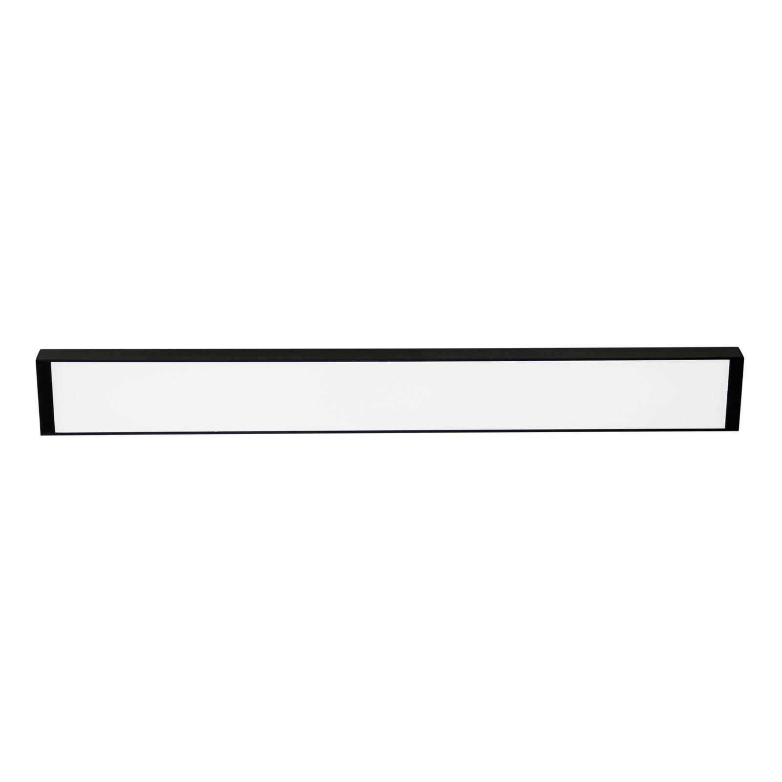 Vana Surface Mounted LED Ceiling Light, 93cm, Black