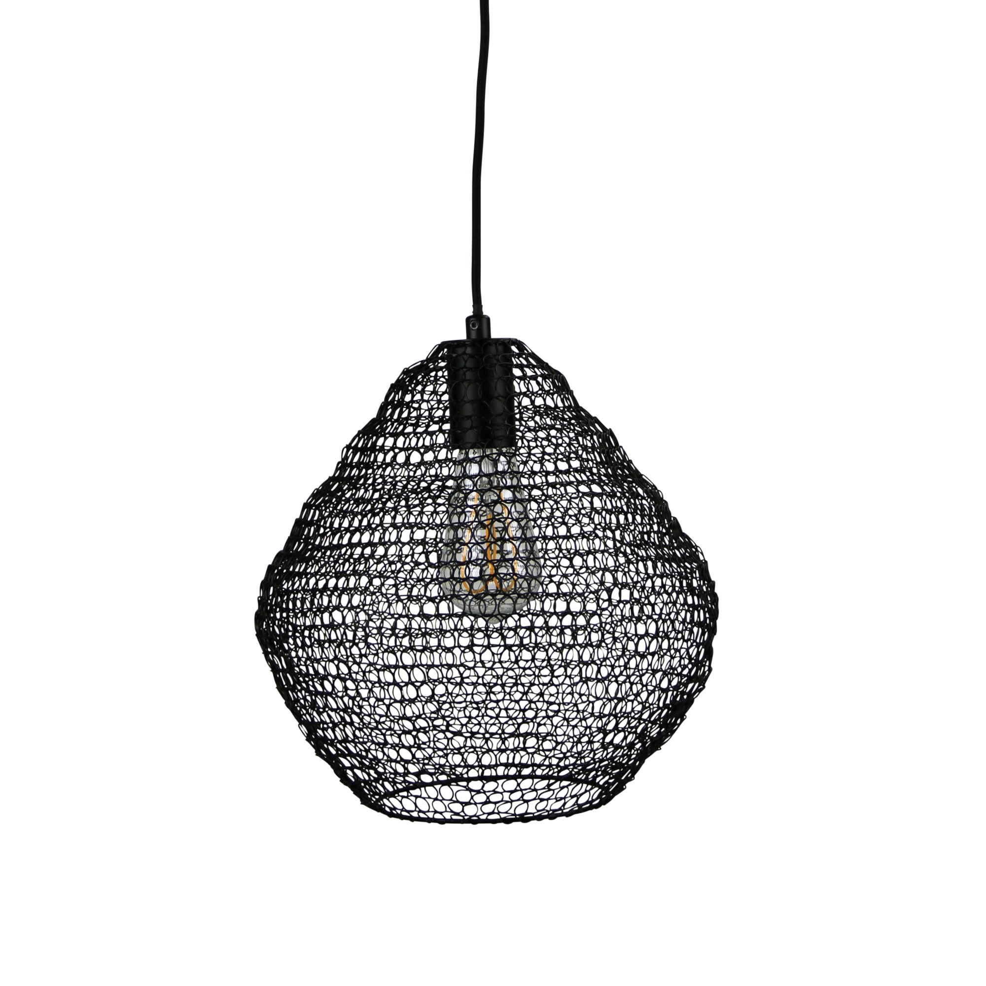 Mudag Metal Mesh Pendant Light, Medium