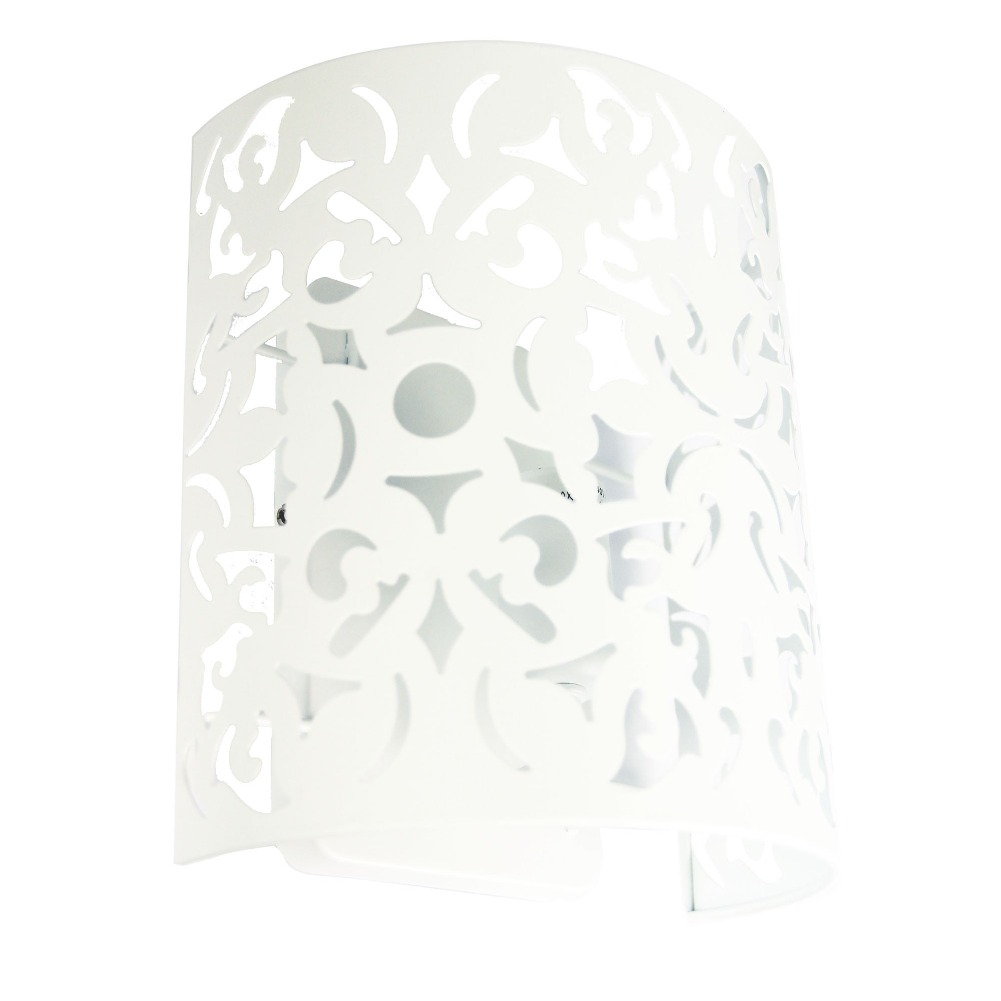 Vicky Metal Wall Light, White
