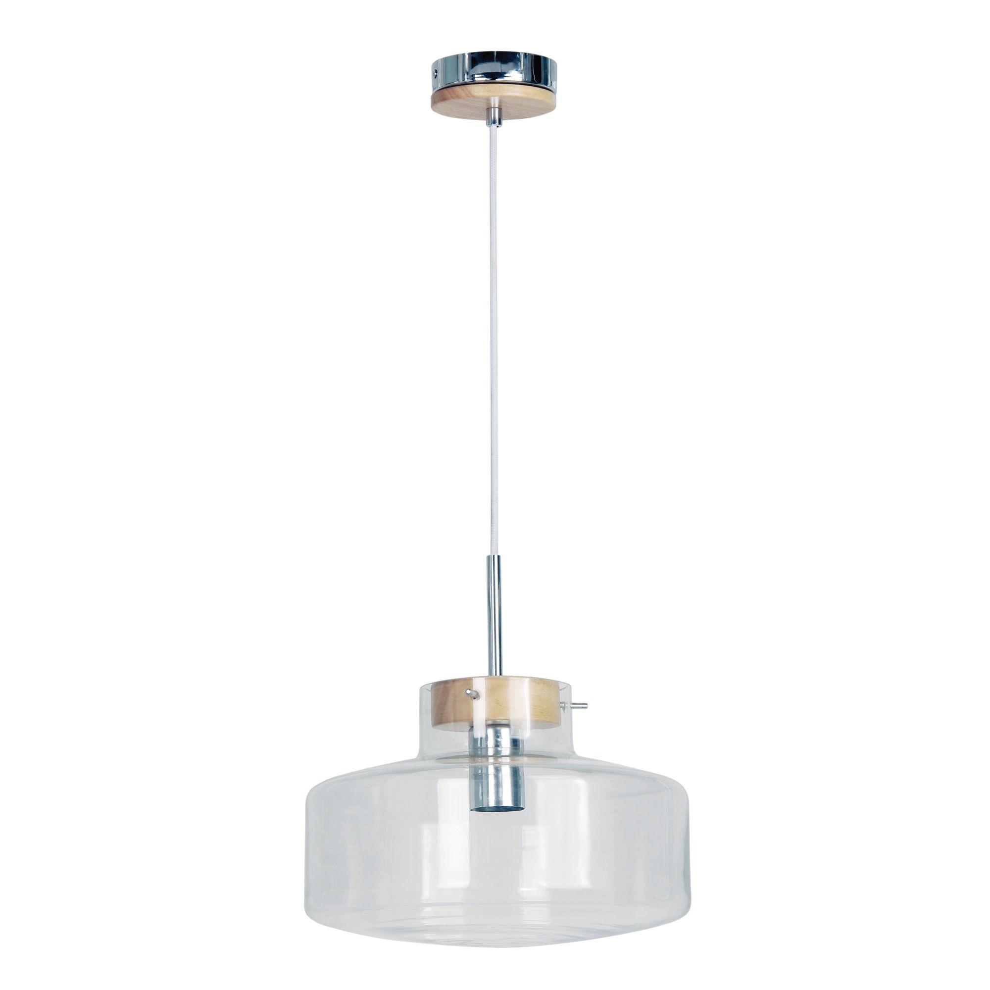 Holbeck III Glass Pendant Light