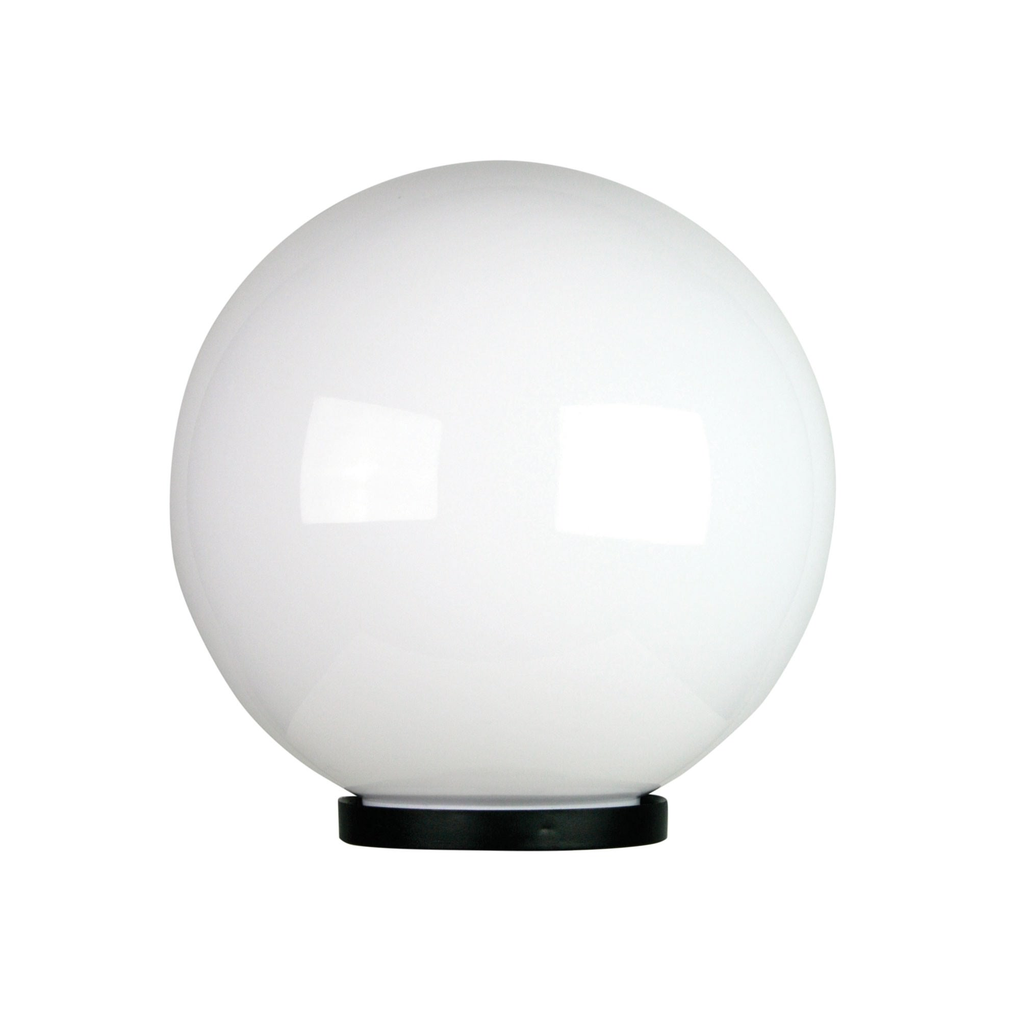 Galactic IP44 Exterior Sphere Post Top Light, 30cm