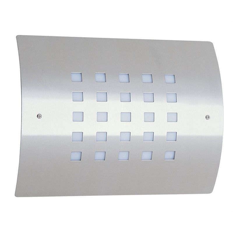 Guardian Lines IP44 Exterior Stainless Wall Light (Oriel Lighting)