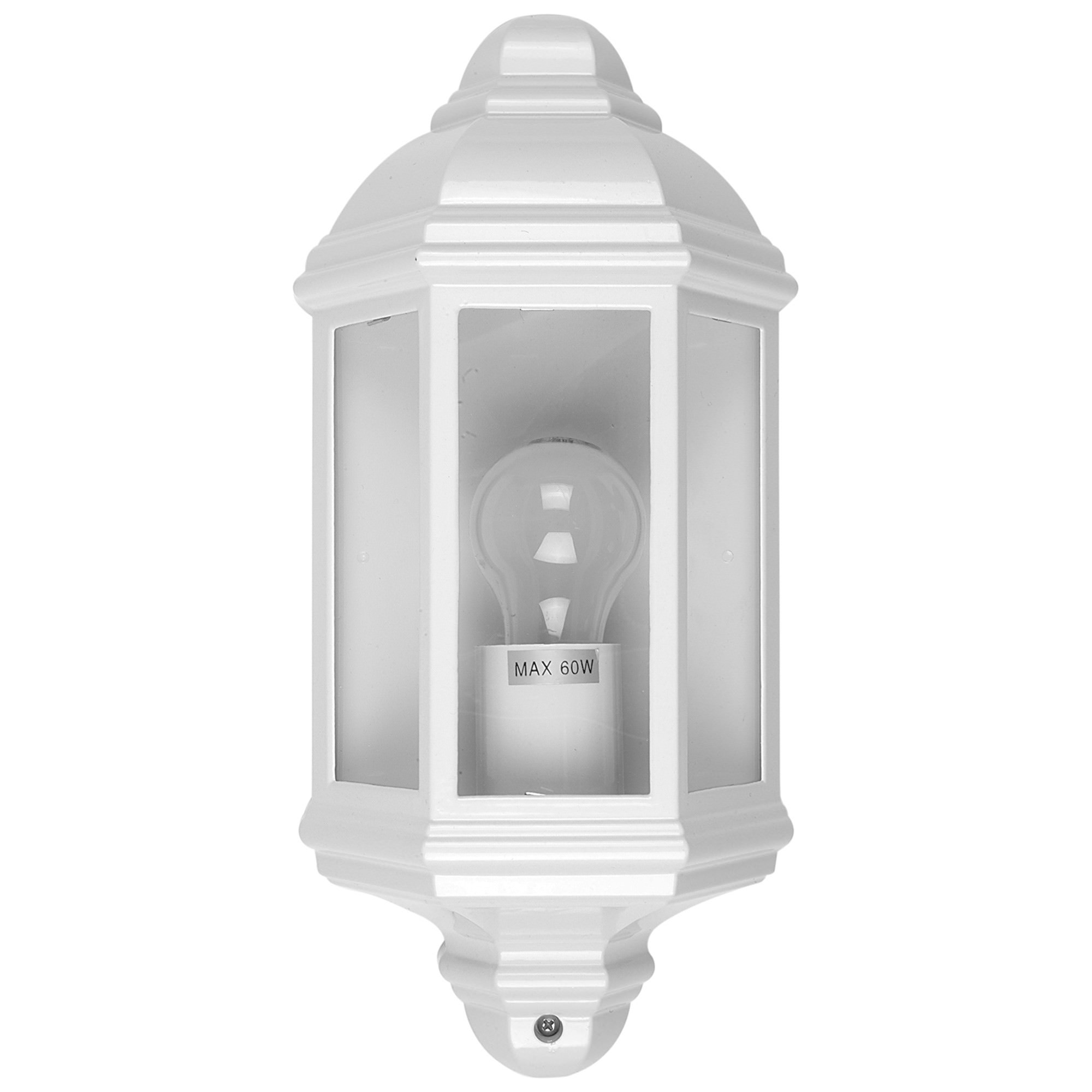 Fenchurch IP44 Exterior Wall Light, White
