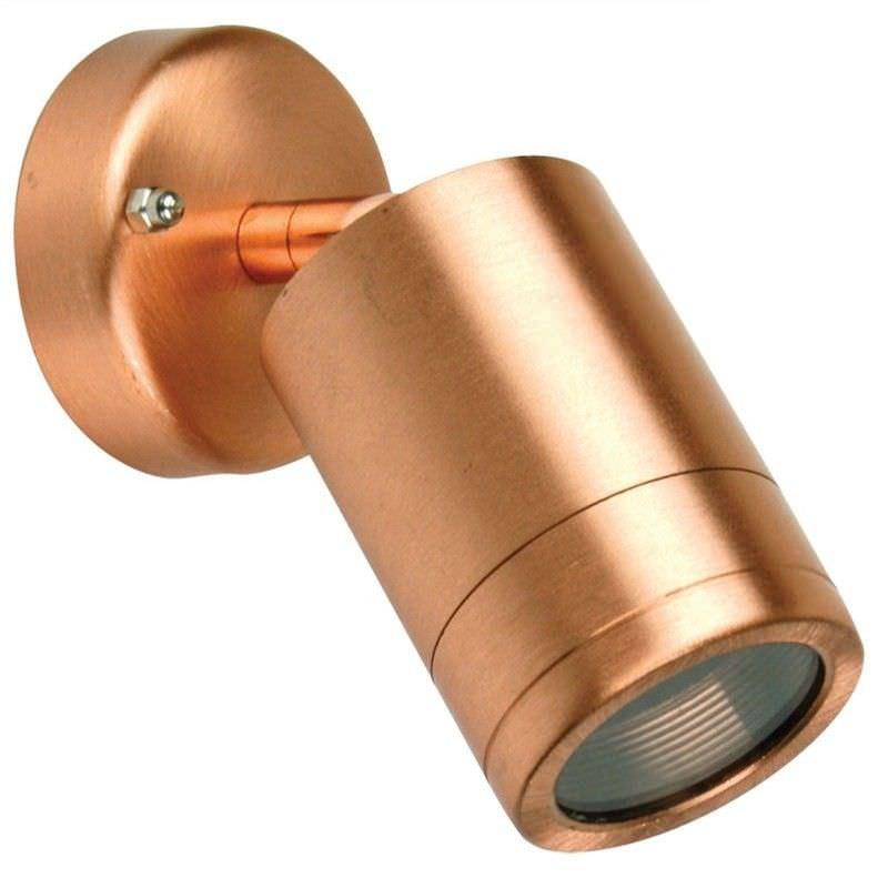 Accent IP54 Copper Halogen Spotlight (Oriel Lighting)