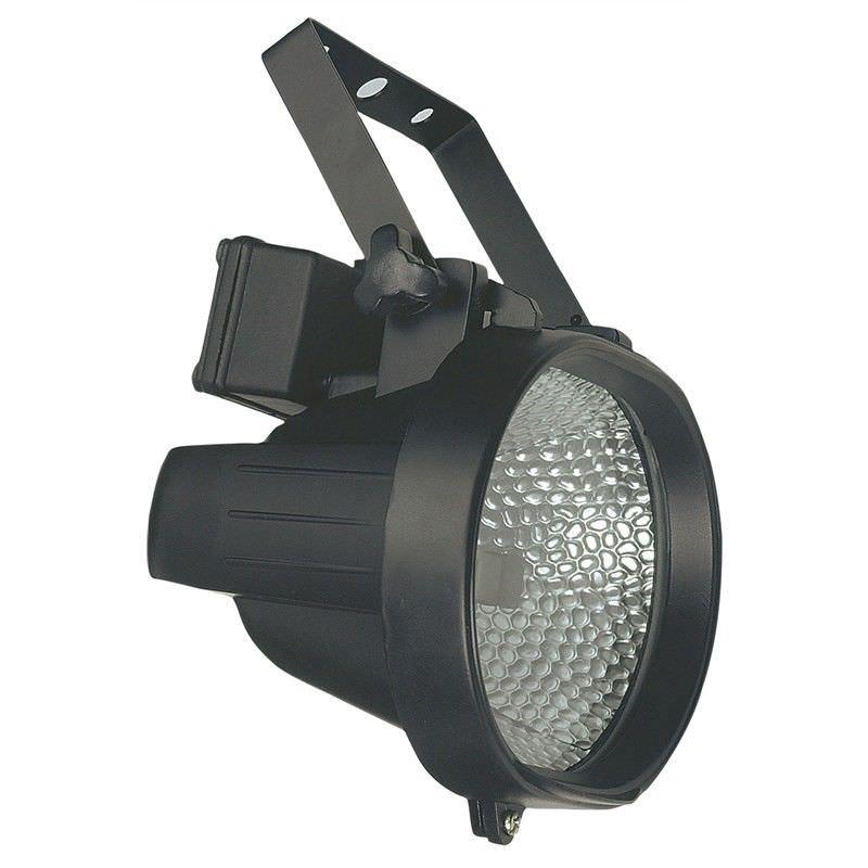 500W IP54 Black Oval External Enclosed Halogen Floodlight (Oriel Lighting)